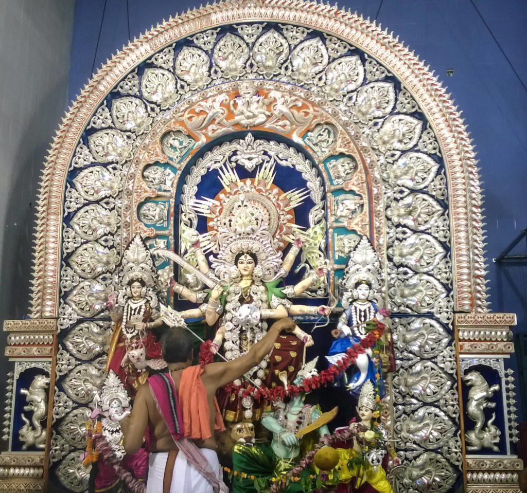 Tarakashi Durga Idol