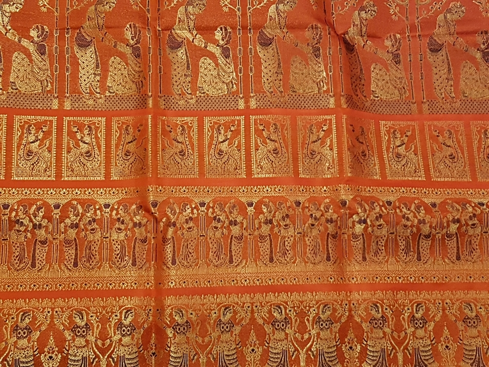 The stories we wear – Baluchari Sarees from West Bengal – Arteastic