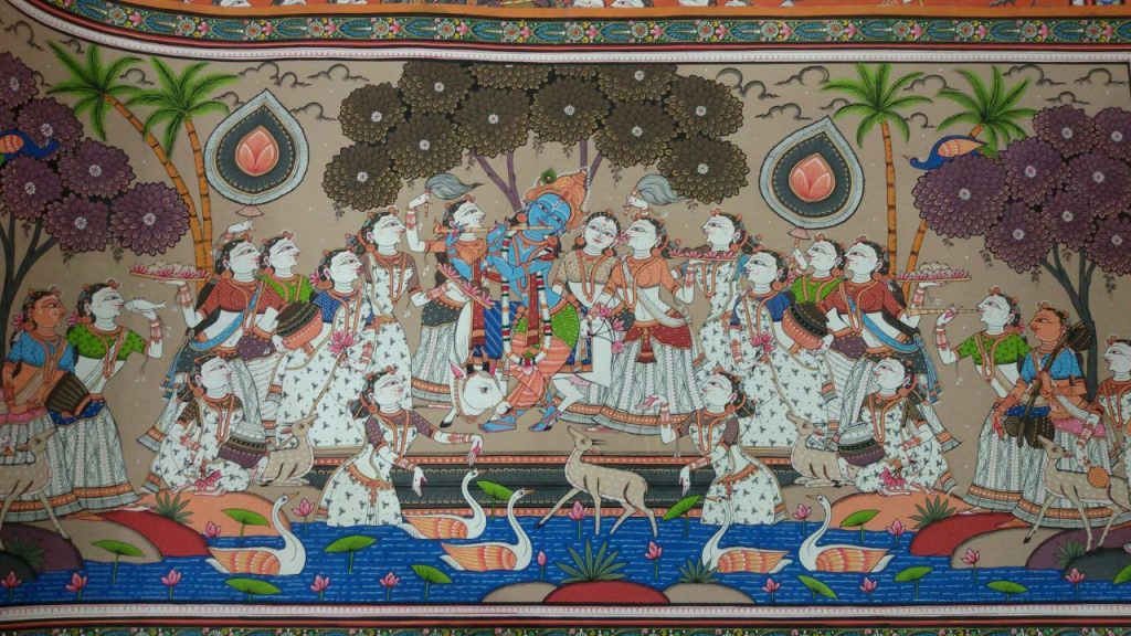 How to take care of Pattachitra paintings